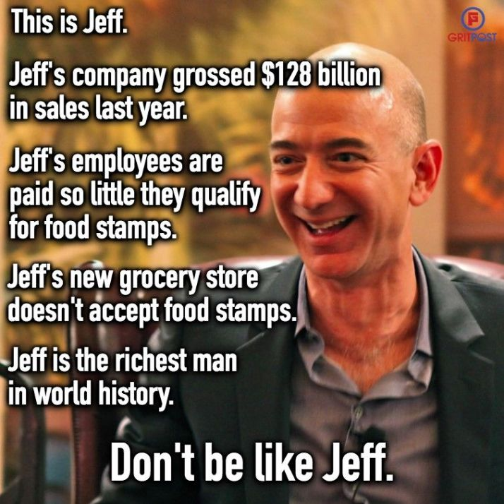 Jeff Bezos Historically Rich Historically Corrupt A Different